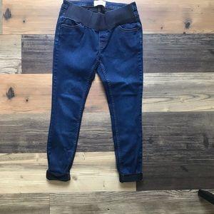 ASOS super skinny maternity jeans